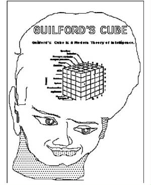 guilford's cube in the head